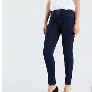 NWT Levi's 721 High Rise Skinny Dark Wash 31/30